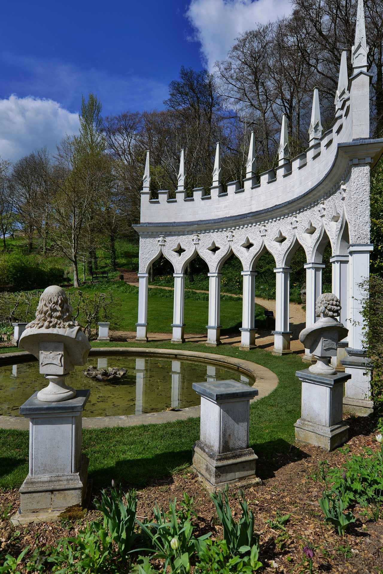 Painswick Rococo Garden by Michael Garlick.