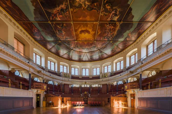 The Sheldonian Theatre