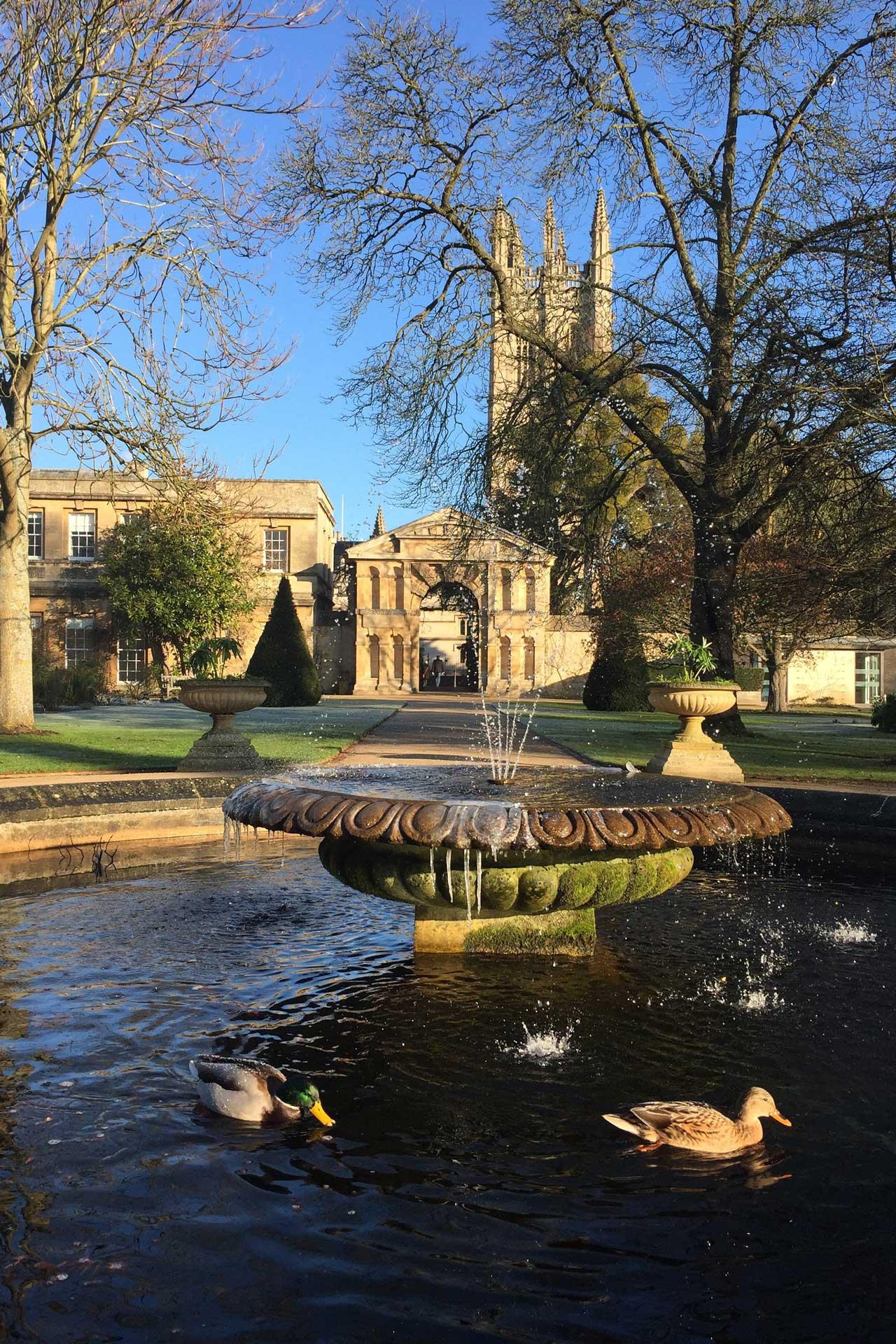 University Of Oxford: The University Of Oxford Botanic Garden