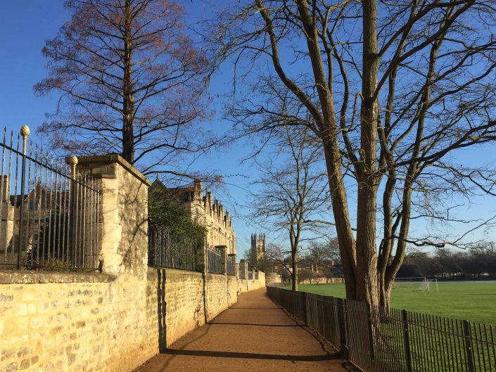 Great places for walks around Oxford