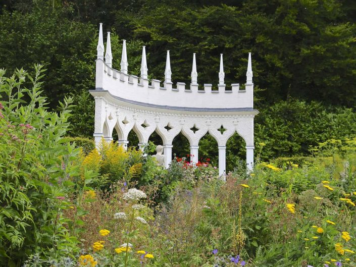 Painswick Rococo Garden in the Cotswolds